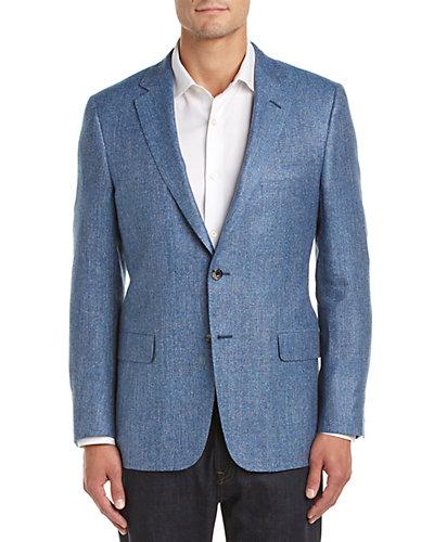 Hickey Freeman Milburn II Silk, Linen & Wool-Blend Sportcoat