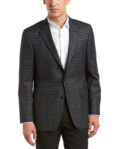 Hickey Freeman Milburn II Wool Sport Coat