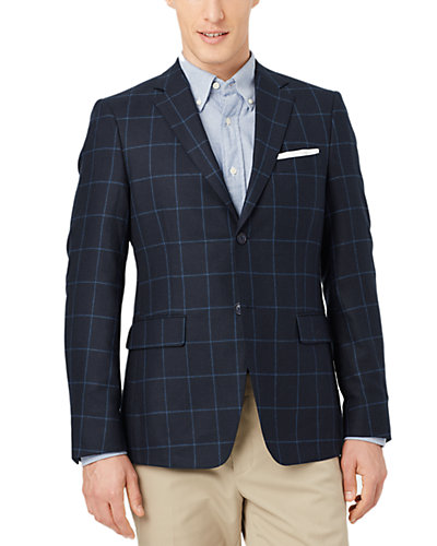 Jack Spade Warren Fit Silk & Wool Sport Coat