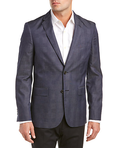 Brooks Brothers Red Fleece Wool-Blend Suit Separate Jacket