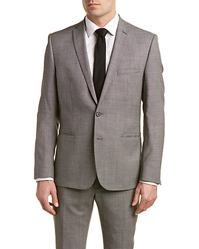 Ben Sherman Camden Super Slim Fit Suit with Flat Front Pant