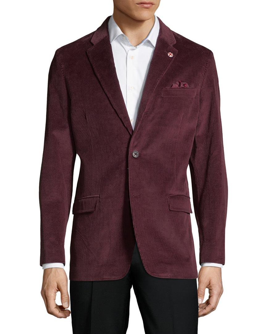 Ben Sherman Ribbed Coat 10118748730002