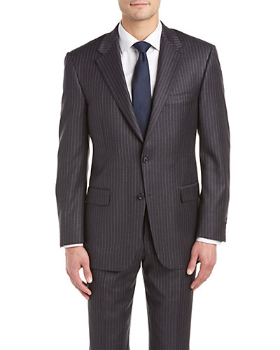 Hickey Freeman Lindsey Suit with Flat Front Pant