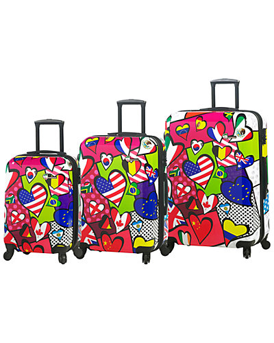 Mia Toro ITALY International Love 3pc Expandable Spinner Set