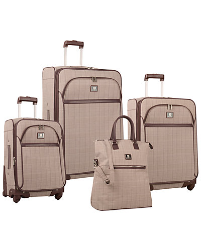 Anne Klein Calgary 4pc Luggage Set
