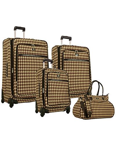 Anne Klein Boston 4pc Luggage Set