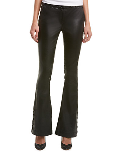 Nicole Miller Leather Pant