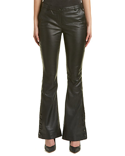 Nicole Miller Artelier Leather Pant