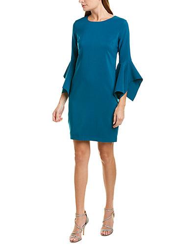 Rue La La — Laundry by Shelli Segal Bell-Sleeve Mini Dress