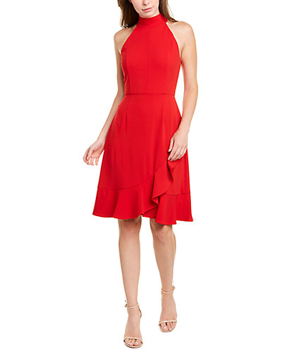 Rue La La — Donna Morgan Halter Sheath Dress