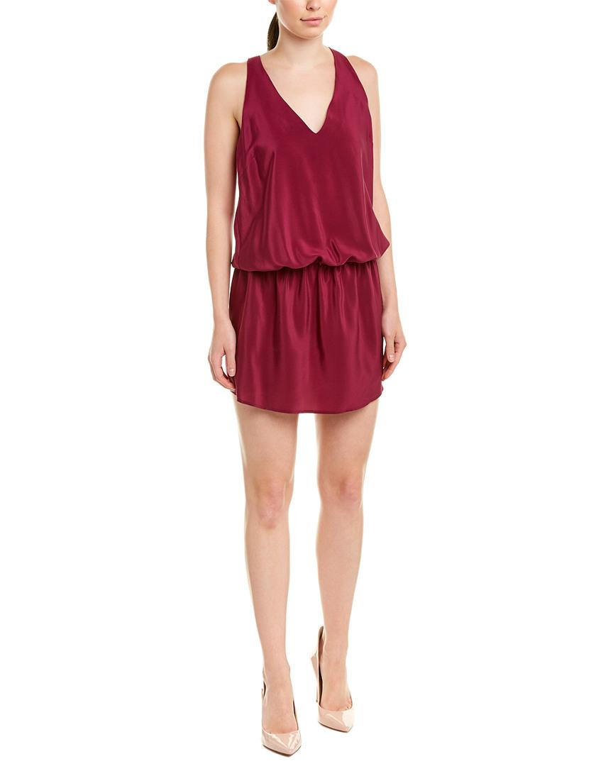 Amanda Uprichard SILK SHIFT DRESS