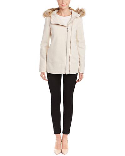 Marc New York Hazel Wool-Blend Coat