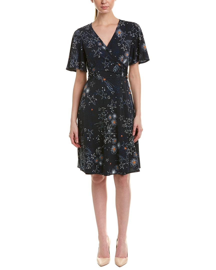 Donna Morgan FAUX WRAP DRESS