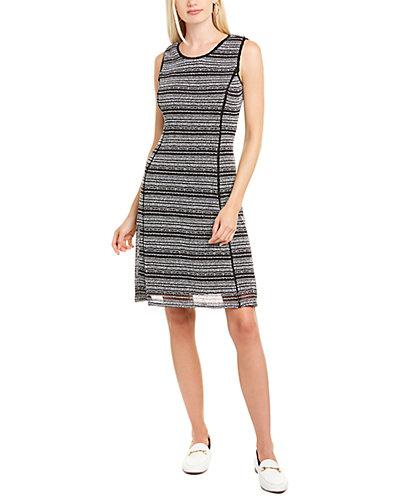 Rue La La — KARL LAGERFELD Crocheted A-Line Dress