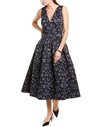 Rue La La — Hunter Bell Whitley Wool-Blend A-Line Dress