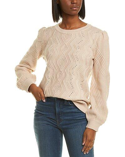 Rue La La — KARL LAGERFELD Puff Shoulder Sweater
