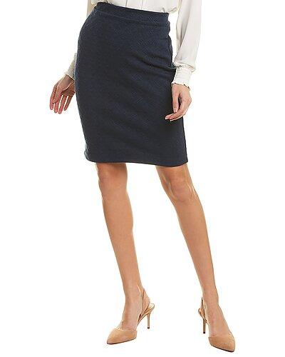 Rue La La — Leota Jacquard Pencil Skirt