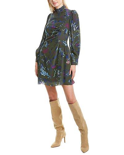 Rue La La — Tanya Taylor Clarisse Silk Mini Dress