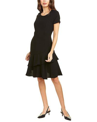 Rue La La — SHANI Crepe Mini Dress