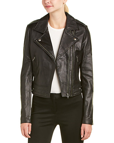 Linea Pelle Ryder Leather Moto Jacket