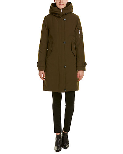 French Connection Hooded Utility Coat