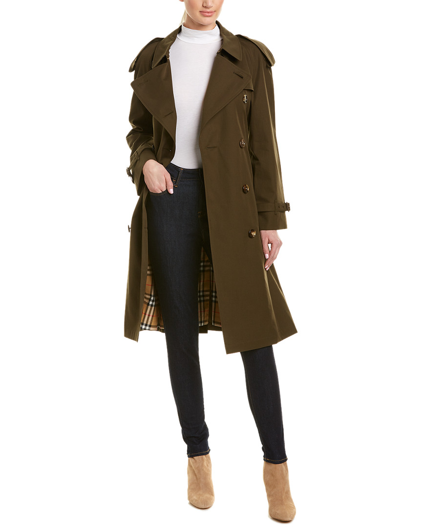 ecd3b4fac71b Burberry Westminster Long-Length Heritage Trench Coat
