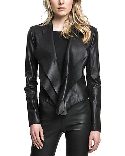 LaMarque Leather Asymmetric Jacket