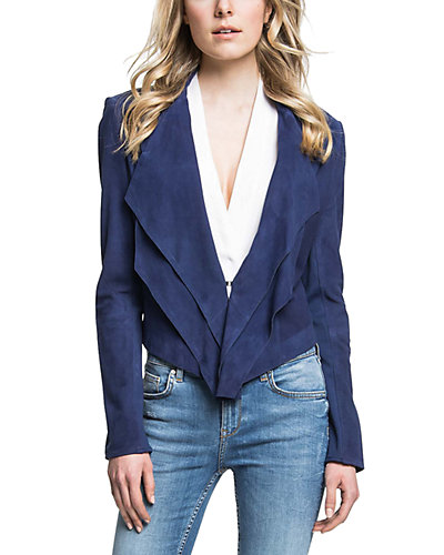 LaMarque Suede Cascade Jacket