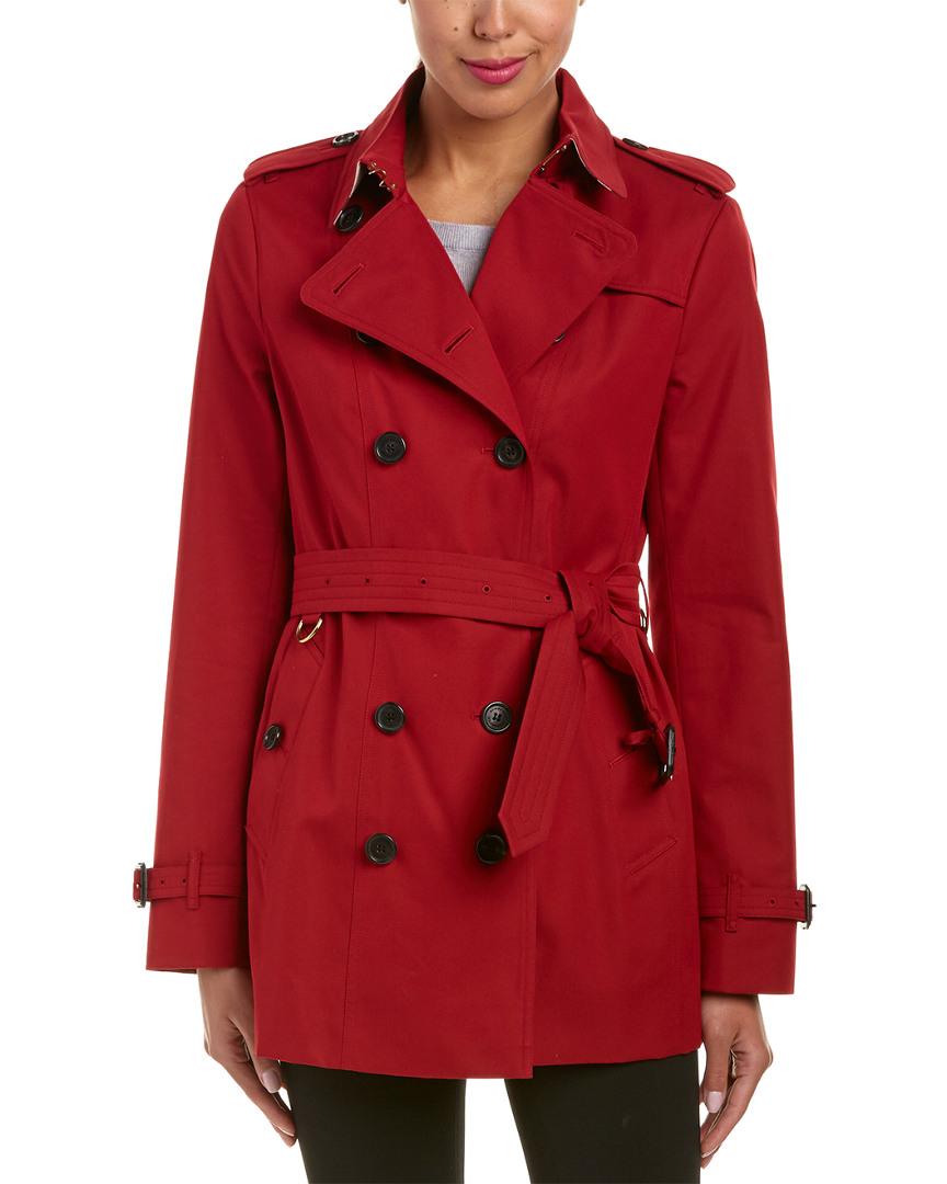 e89e9579c7 Burberry Para Mujer Abrigo Trench De Patrimonio Sandringham corto, 6 ...