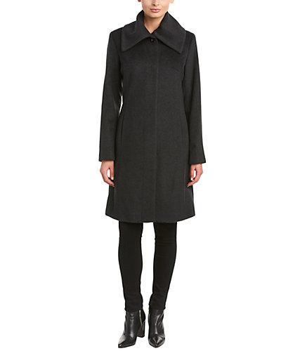 Cole Haan Signature Wool-Blend Coat