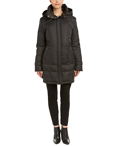 Cole Haan Signature Quilted Short Down Coat
