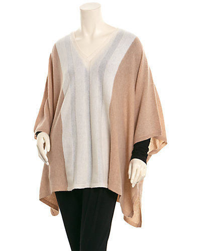 Magaschoni Cashmere Mix Stitched Wrap