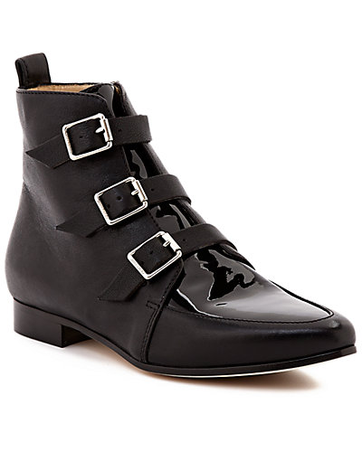 Jimmy Choo Marlin Patent & Leather Ankle Boot