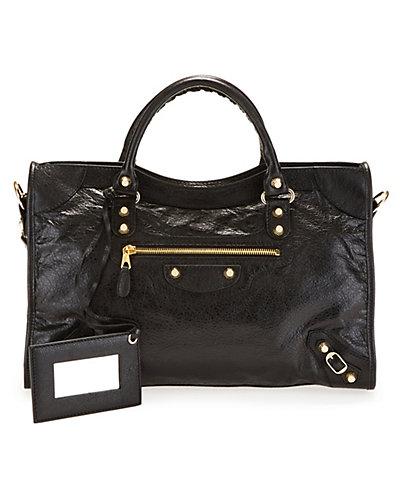 Balenciaga Giant 12 Gold City Medium Leather Shoulder Bag