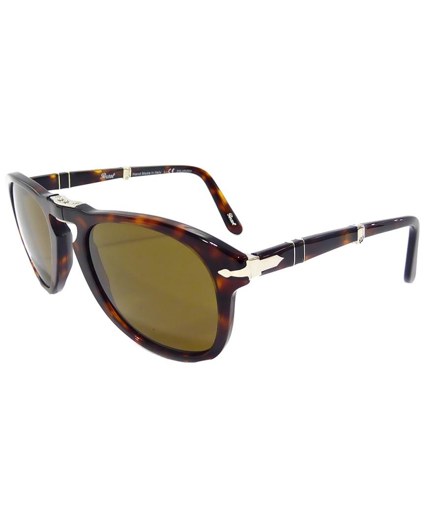 06453337577 Persol Mens Men s Folding 52Mm Polarized Sunglasses 713132220702