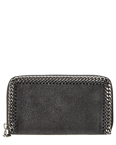 Stella McCartney Falabella Shaggy Deer Zip Around Wallet