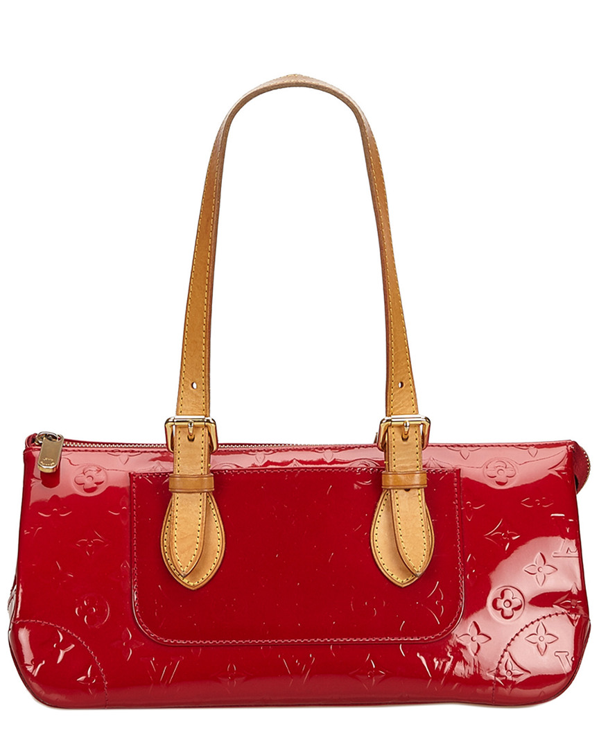 2db7e32d2f57 Louis Vuitton Red Monogram Vernis Leather Rosewood Avenue