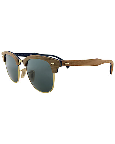 Ray-Ban Unisex RB3016 51mm Clubmaster Sunglasses