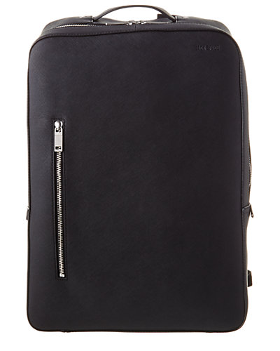 Jack Spade Barrow Leather Stanton Backpack