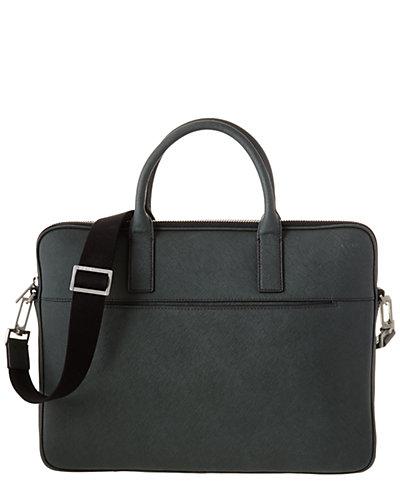 Jack Spade Barrow Leather Briefcase