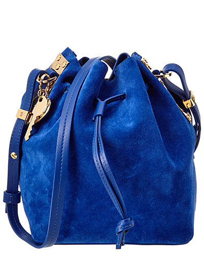 Sophie Hulme Nelson Suede Bucket Bag