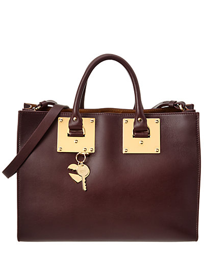 Sophie Hulme Albion East-West Leather Satchel