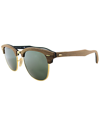 Ray-Ban Unisex 3016 51mm Clubmaster Sunglasses