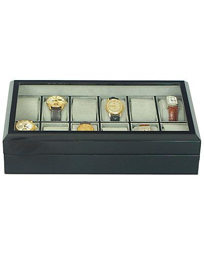 Rapport London Ebony Watch Collector Box