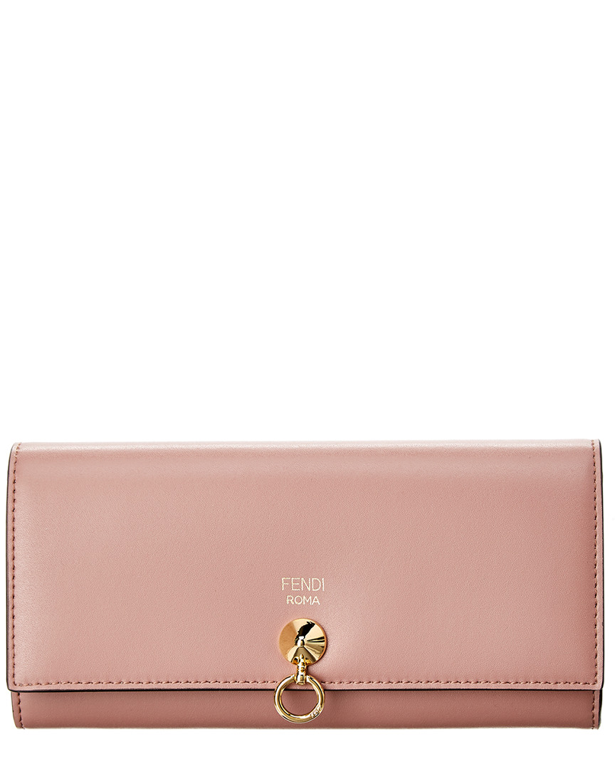 Fendi  BY THE WAY LEATHER CONTINENTAL WALLET
