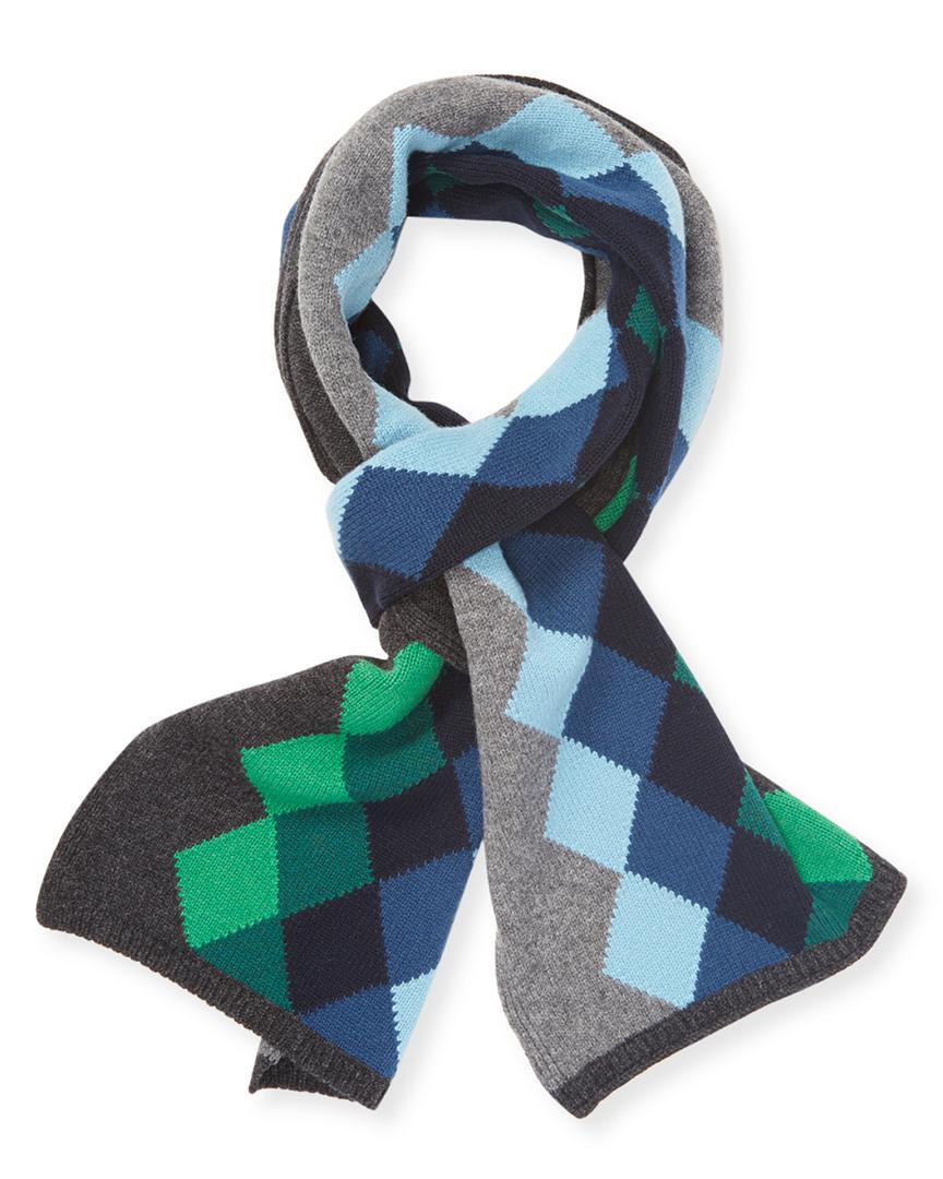 Desanto Argyle Wool Scarf 11117706270000