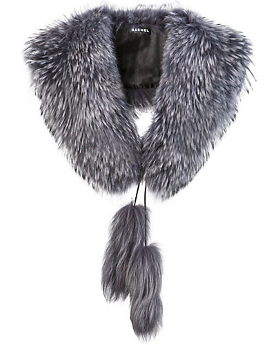 Rachel Furs Jumbo Collar With Tail Ties
