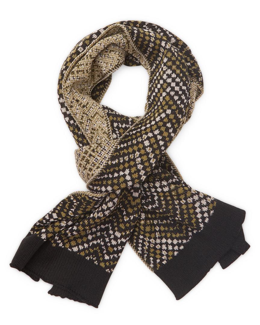 Missoni Ribbed Wool Long Scarf 11118068160000