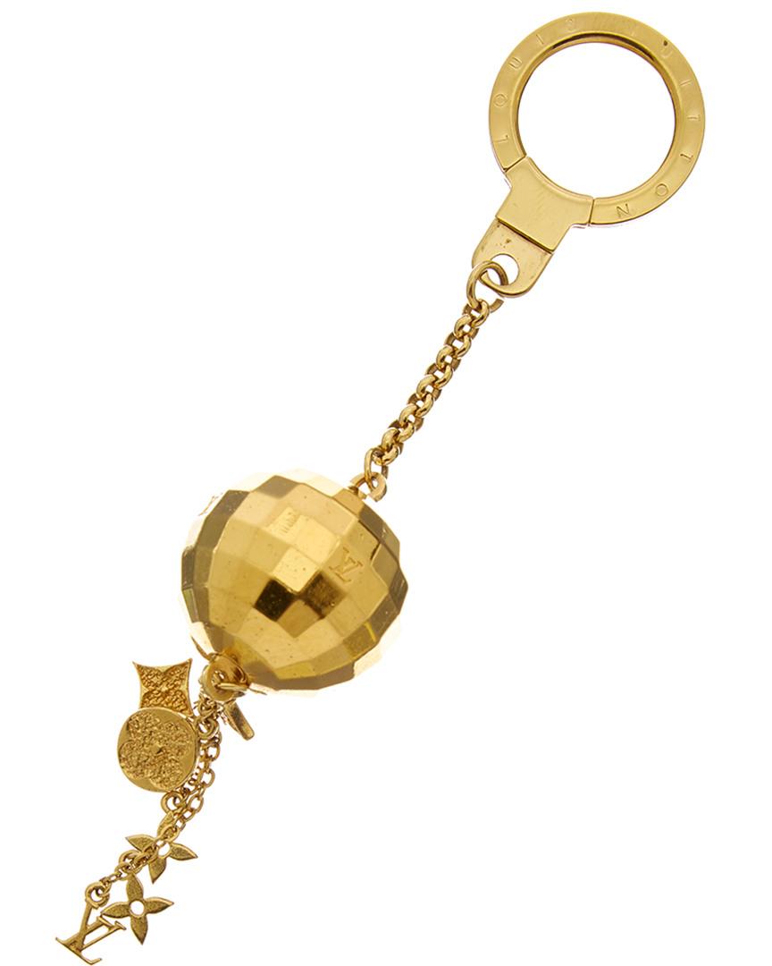 Louis Vuitton Womens Gold-Tone Mirrorball Key Chain  c08a89ab0f