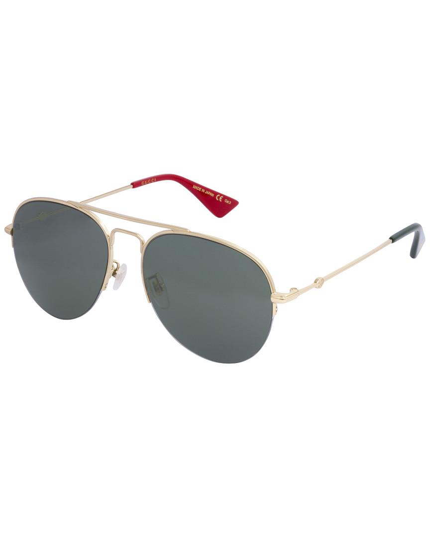 77aba24135 Gucci Unisex Gg0107S 56Mm Sunglasses In Nocolor